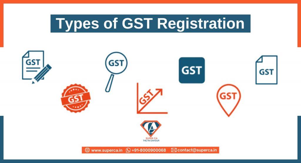 Types of GST Registration